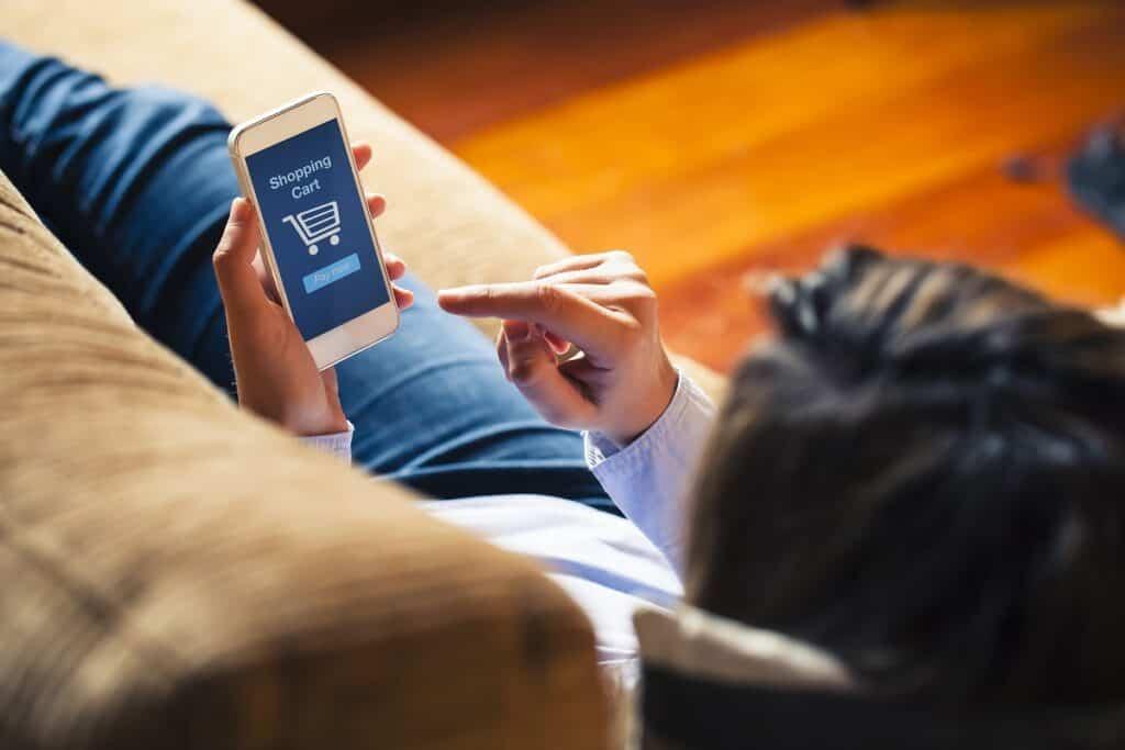 El comercio electrónico aumentó un 46% en 2020 4